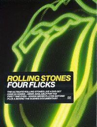 Cover The Rolling Stones - Four Flicks [DVD]